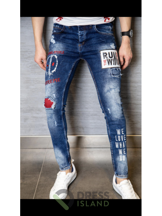 Джинсы X WAY Jeans (6007-1)