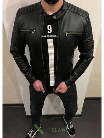 Куртка кожзам Delphino полубатал (2093-1)
