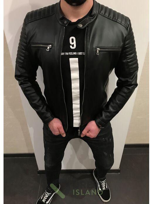 Куртка кожзам Delphino полубатал (2093-2)