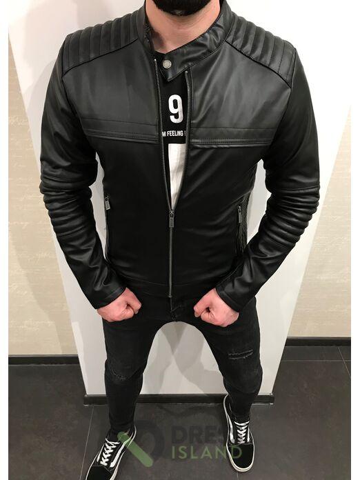 Куртка кожзам Dovre (849)
