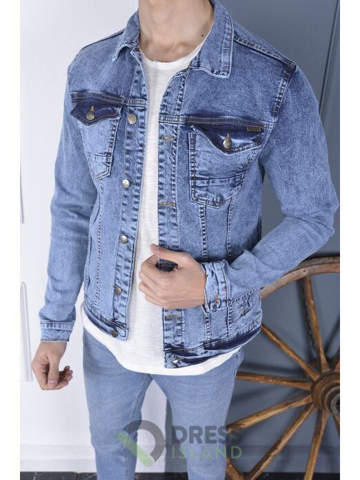 Джинсовая куртка John Lucca полубатал (2065-3)