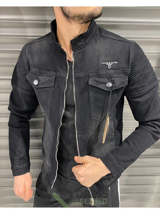 Джинсовая куртка John Lucca (525-1)