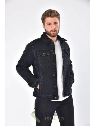 Джинсовая куртка John Lucca утеплённая (573-2)