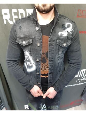 Джинсовая куртка Plus Scorpion (3252-1)