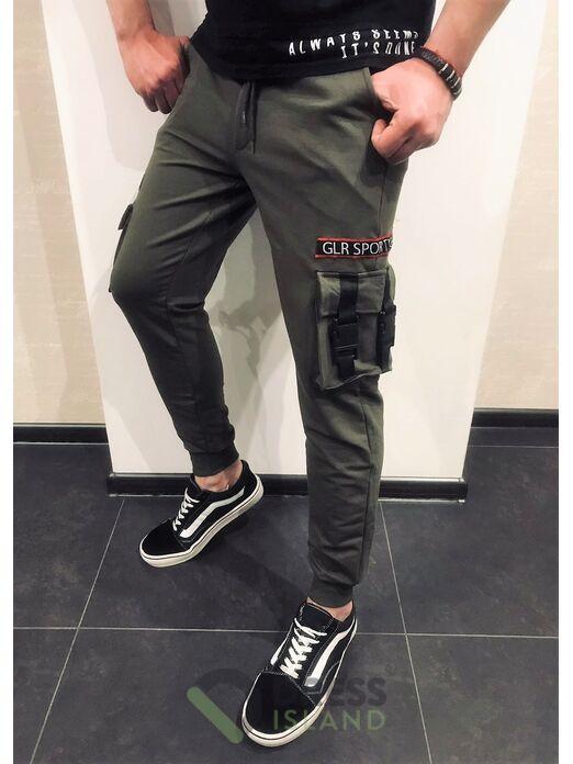 Спортивные штаны GLR Sport 2-нитка (1105-3)