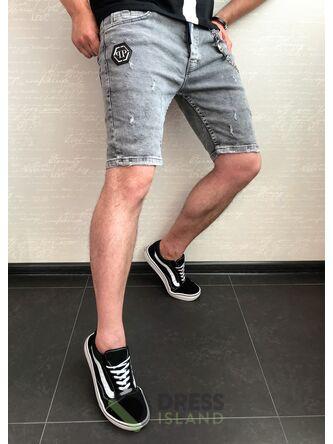 Джинсовые шорты Philipp Plein (0460)