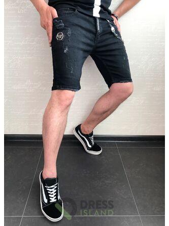 Джинсовые шорты Philipp Plein (0483)