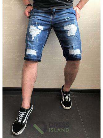 Джинсовые шорты Redman полубатал (8481)