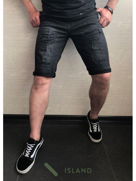 Джинсовые шорты Redman полубатал (8484)