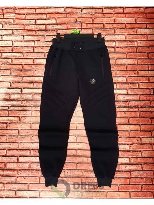 Спортивные штаны на манжете Черный GLR Sport (1005-1)