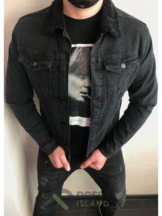Джинсовая куртка John Lucca утеплённая (533-2)