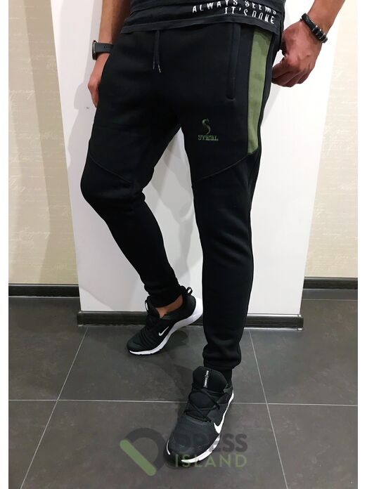 Спортивные штаны ILBES флис (203-1)