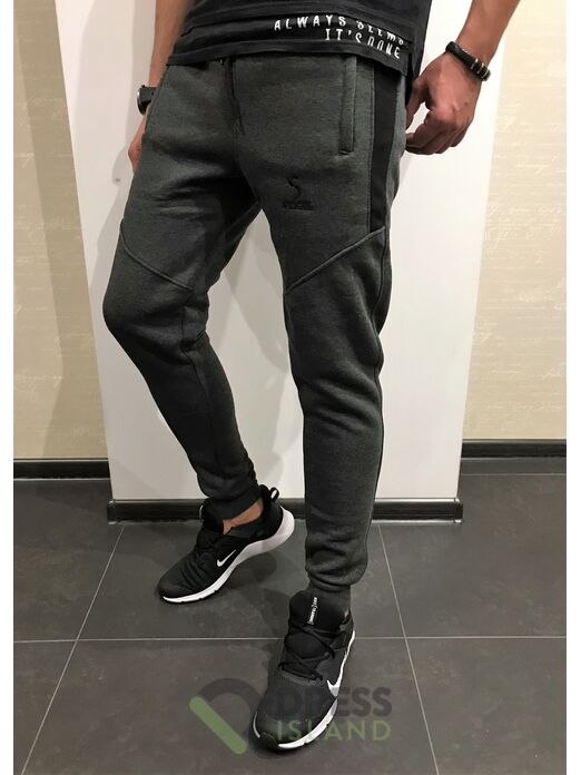 Спортивные штаны ILBES флис (203-2)