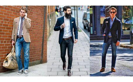 Как правильно сочетать пиджак с джинсами. Особенности и закономерности выбора