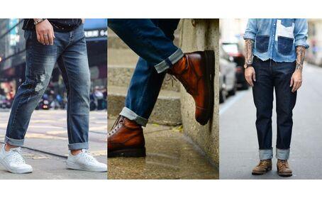 Как правильно и стильно подвернуть джинсы