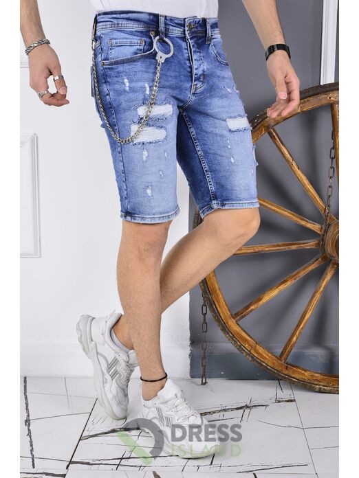 Джинсовые шорты DSQUALA (6140)