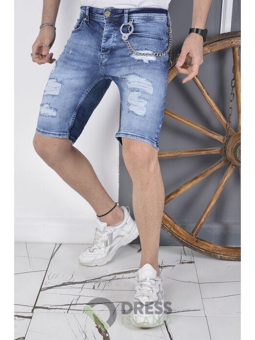 Джинсовые шорты DSQUALA (6119)