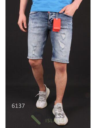 Джинсовые шорты DSQUALA (6137)