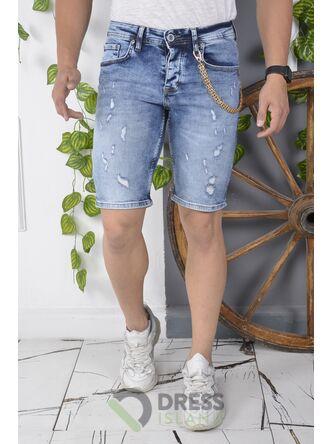 Джинсовые шорты DSQUALA (6143)