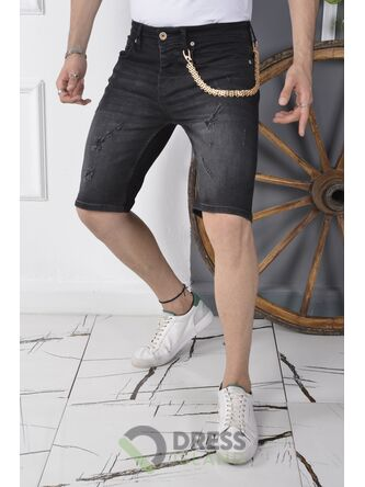 Джинсовые шорты DSQUALA полубатал (7172)