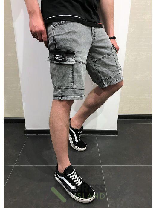 Джинсовые шорты-джоггеры Redman (8545-2)