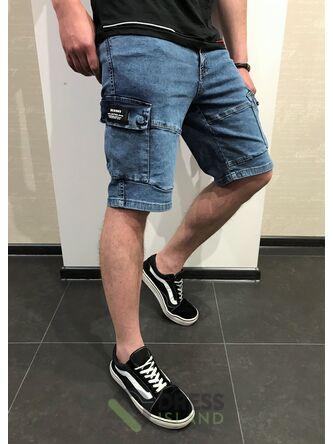 Джинсовые шорты-джоггеры Redman (8545-3)
